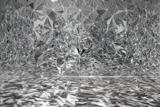 Exhibition view Museum Haus Konstruktiv, 2019. (Image: Timo Nasseri, Florenz-Bagdad, 2016) © 2019, ProLitteris, Zurich