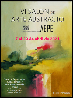 Cartel VI Salón de Arte Abstracto
