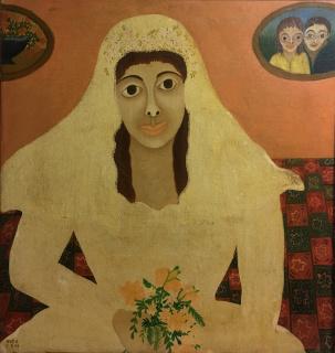 Obra de la exposición «A opulência da Arte Popular brasileira» — Cortesía de la Galeria Evandro Carneiro Arte