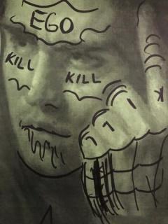 Álvaro Seixas, Desenho (killer EGO), 2017