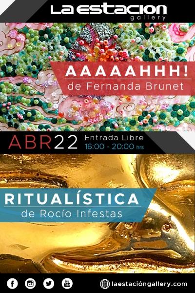 Aaaaahhh! de Fernanda Brunet & Ritualistica de Rocío Infestas