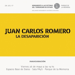 Juan Carlos Romero. La desaparición