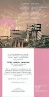 TODOS LOS OJOS EN BOLIVIA