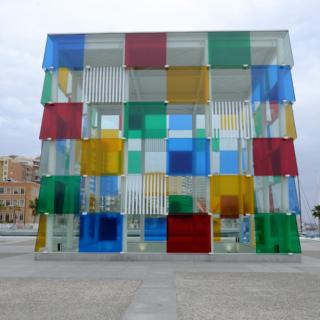 © Carlos Criado, Ayuntamiento de Málaga El cubo de Daniel Buren