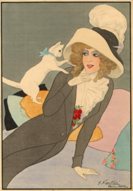 JOAQUÍN XAUDARÓ. QUITANDO MOÑOS, 1912  ©MUSEO ABC – Cortesía del Museo ABC