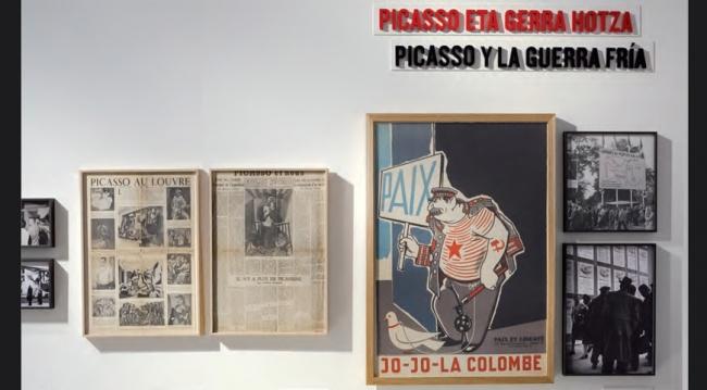 Picasso, el viaje del Guernica — Cortesía del Ayuntamiento de Pamplona