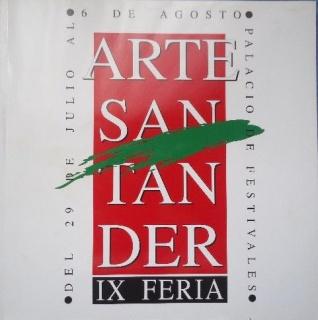 catálogo IX Feria ArteSantander