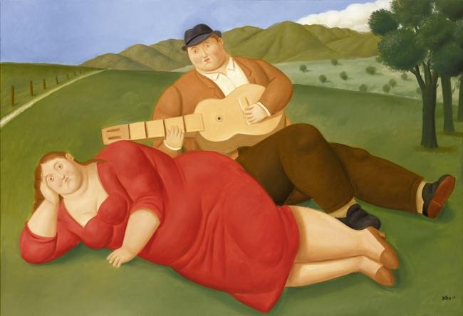 Fernando Botero, Concierto campestre — Cortesía de Galería Marlborough - Madrid