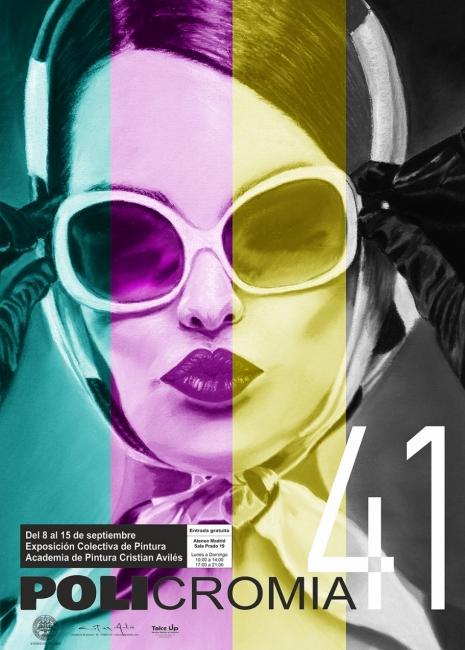 Exposición Policromia41 cartel