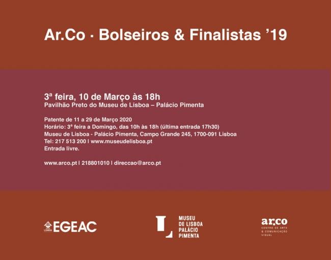 Ar.Co - Bolseiros & Finalistas '19