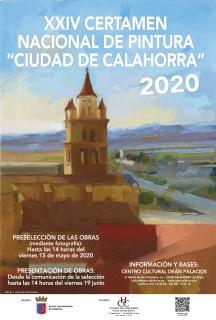 XXIV Certamen Nacional de Pintura Ciudad de Calahorra - Cartel