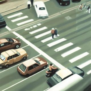 FABIÁN GIMÉNEZ, Paso, 2005. Acrílico s/tela, 120 x 119 — Cortesía de la de la Fundación OSDE