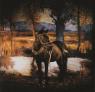 ADRIANA BUSTOS, Sombra en un Cerrito, 2006. Fotografía, toma directa ,120 x 120 — Cortesía de la de la Fundación OSDE