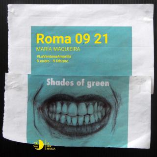 Cartel exposición_María Maquieira_La Casa Amarilla