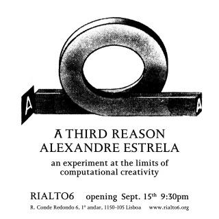 Alexandre Estrela. A Third Reason