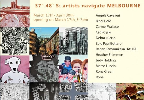 37° 48´ S: artists navigate Melbourne