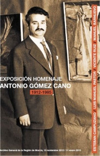 Cuatro Pintores con Gómez Cano