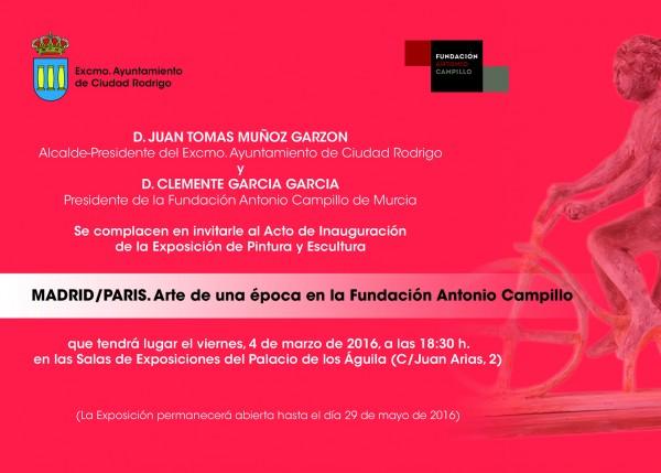 Madrid/París. Arte de una época en la Fundación Antonio Campillo