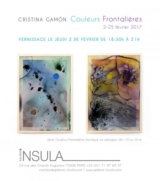 Cristina Gamón, Couleurs Frontalières