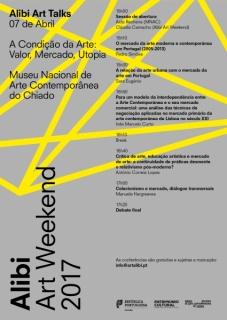 Alibi Art Weekend Talks - A Condição da Arte: Valor, Mercado, Utopia