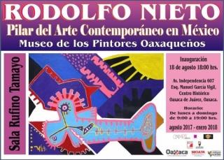 RODOLFO NIETO, PILAR DEL ARTE CONTEMPORÁNEO EN MÉXICO