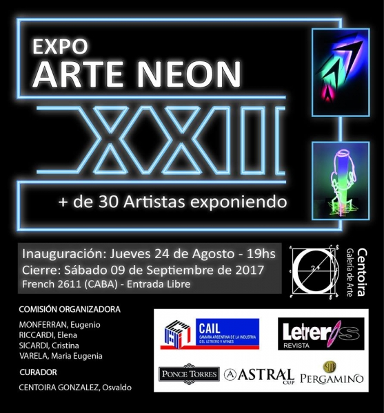 ARTE NEON XXII 2017