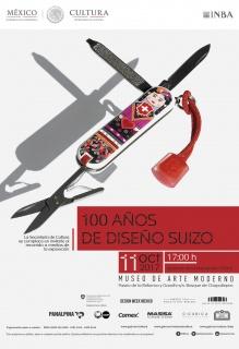 100 AÑOS DE DISEÑO SUIZO. Imagen cortesía Museo de Arte Moderno