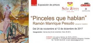 Ramón Manrique Pesudo. Pinceles que hablan