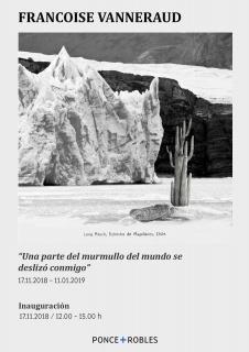 Françoise Vanneraud. Una parte del murmullo del mundo se deslizó conmigo