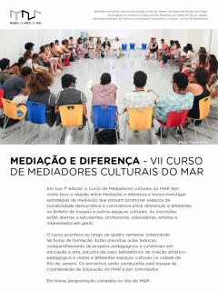 VII Curso de Mediadores Culturais