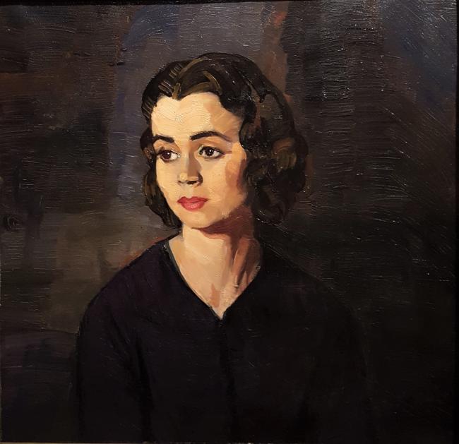 """Ignacio Zuloaga, """"Estudiante de París"""". Óleo / lienzo, Ca. 1930 1931"""