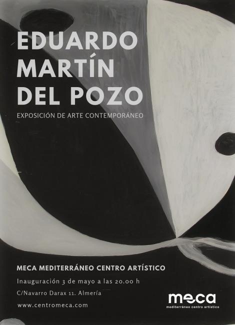 Invitación Exposición en MECA de Eduardo Martín del Pozo