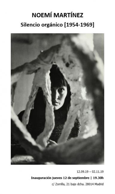 Noemí Martínez. Silencio orgánico (1954-1969)