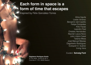 Each form in space is a form of time that escapes