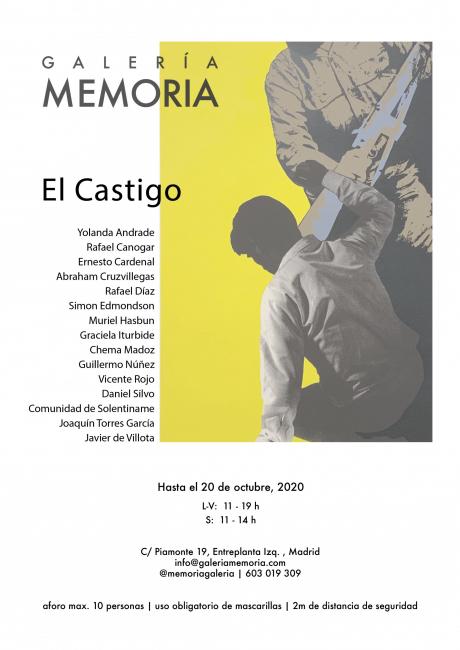 Cartel de la exposición El Castigo