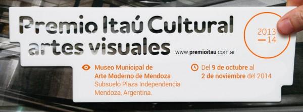 Premio Itaú Cultural de Artes Visuales 2013/14