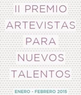 II Premio Artevistas para Nuevos Talentos