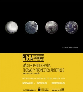 9ª EDICIÓN MÁSTER PHOTOESPAÑA TEORÍAS Y PROYECTOS ARTÍSTICOS