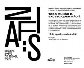 13ª Bienal Naïfs do Brasil