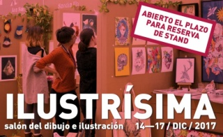 Ilustrísima 2017. Salón del dibujo y la ilustración