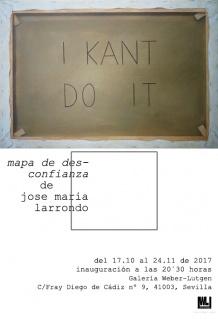 José María Larrondo. Mapa de desconfianza