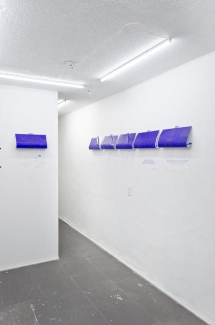 Vista de instalación: Daniela Flores Arias
