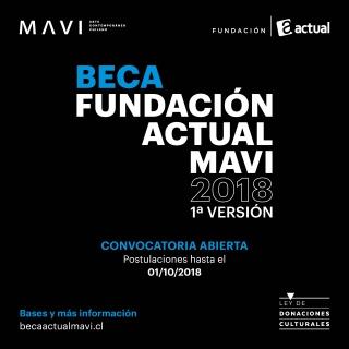 I Beca Fundación Actual MAVI. Imagen cortesía MAVI