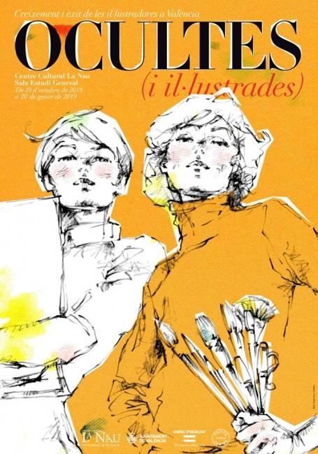 Ocultas e ilustradas. Crecimiento y éxito de las ilustradoras en Valencia