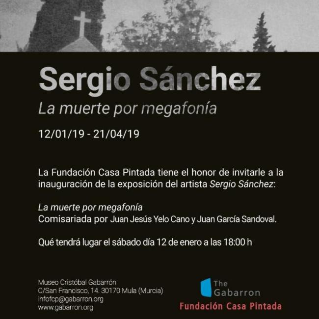 Sergio Sánchez. La muerte por megafonía
