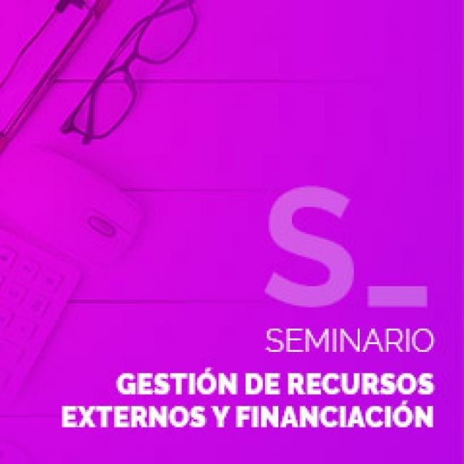 Gestión de Recursos Externos y Financiación