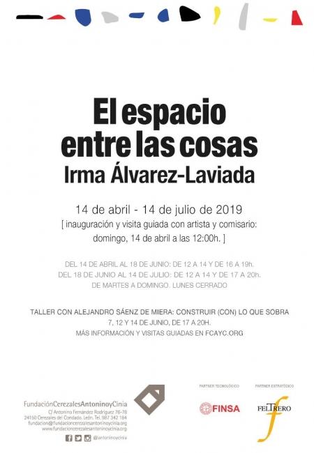 Irma Álvarez-Laviada. El espacio entre las cosas