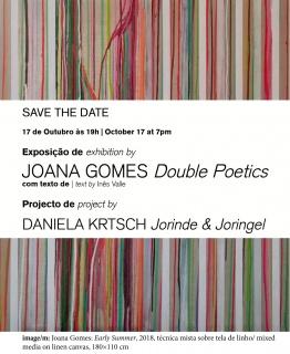 Joana Gomes. Double Poetics