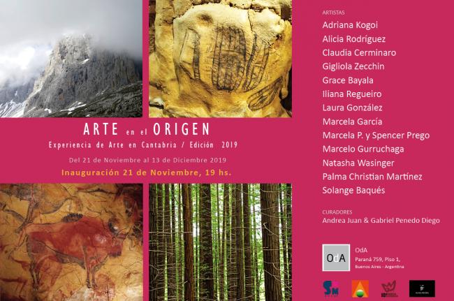 Arte en el Origen III - Invitación