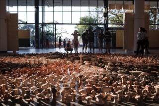 Antonio Ballester Moreno, Vivan los campos libres, 2018. 33rd Bienal de São Paulo. © Leo Eloy / Estúdio Garagem / Fundação Bienal de São Paulo. Cortesía Pickles PR